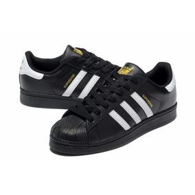 buy popular b56e5 3e7e6 Zapatillas adidas Superstar Blanca negro Original