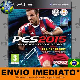 Pes 2015 Ps3 - Midia Digital Em Português | Envio Imediato