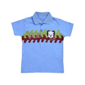 Camisa Polo Tigor T.tigre Baby Azul 10203124 68ccaf4c94f8b