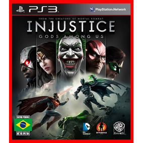 Injustice Gods Among Us Ps3 Psn Portugues