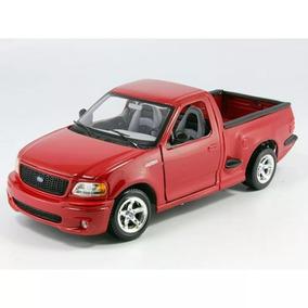 Ford F150 Miniatura Svt Lightning Vermelha 1/21 Maisto