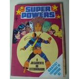 Super Powers Nº9 Maio 88 C/figurinhas E Album Encartado Raro