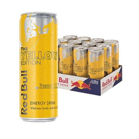 Red Bull Yellow Ed. Bebida Energetica 12 Pack