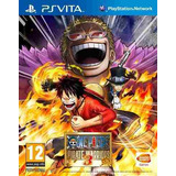 Juego Ps Vita One Piece Pirate Warriors 3
