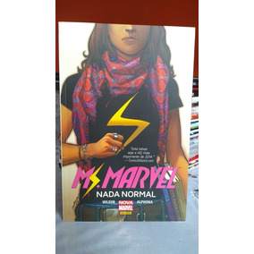 Ms. Marvel Nada Normal Panini ( Capa Cartão )