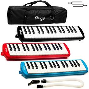 Melodica Flauta Piano Stagg 32 Teclas Con Funda