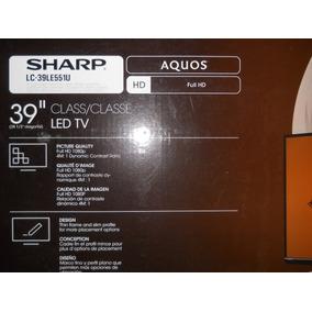 Televisor Sharp Aquos 39 Pulgadas Full Hd Nuevo En Su Caja
