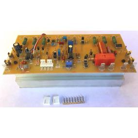 Placa De Áudio, 300w/4 Ohms, 5 Proteções + 4 Alertas Montada