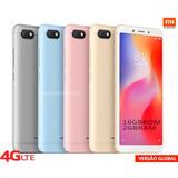 Novo Xiaomi Redmi 6a 16gb 2gbram Wifi 4g Proc Helio Tela 5,5