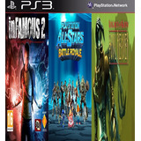 Infamous 2 & All-stars Battle & Legacy Of Kain Digital Ps3