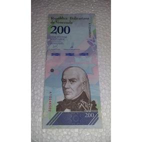 Cédula De 200 Bolívares Soberano Fe.