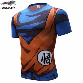 Camiseta Goku Vegeta 3d Dragon Ball Z Super Saiyajin - M
