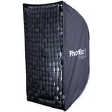 Soft Box C/ Grid Phottix Raja 60x90cm Plegable P/ Bowens