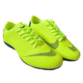 Chuteira Nike Mercurial Vapor Verde Limao Adultos - Chuteiras ... 93daccdb2d3b0