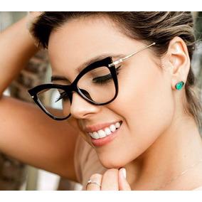 55bad1f33aeac Armaçao De Oculos Feminino - Óculos no Mercado Livre Brasil