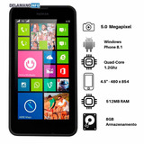 Smartphone Barato Nokia Lumia 8gb 5mp Seminovo (11748)