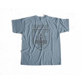 Camiseta Uruguay Auf Algodón Rincón Del Hincha 54ccef4f952