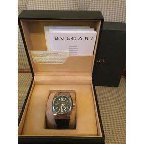 f9e91159e1b Relogio Bvlgari Ergon 30mm Ouro - Relógios De Pulso no Mercado Livre ...