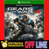 Gears Of War 4 Xbox One Digital Completo Original Offline