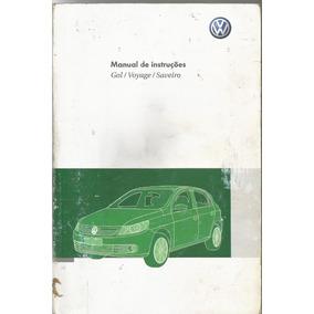 Manual Proprietário Saveiro G5 2012 13 Kit Completo C/bolsi