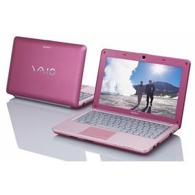 Notebook Sony Vaio Rosa Amd 1.6 Win 7 2gb Ram 80gb Hd