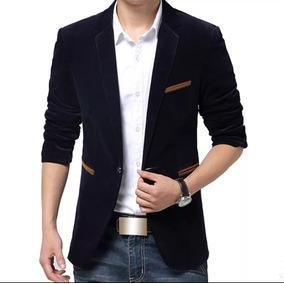 Blazer Masculino Slim Luxo Importado Veludo - Calçados f527ad82b5618
