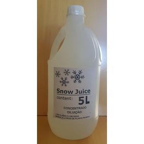 Fluido Liquido Máquina Neve Atoxico Concentrado Faz 25litros