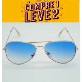 3026 Dourado Com Lente Azul Degrade %c3%b3culos Ray Ban 3025 ... 420e785ac8