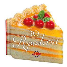 30 Recetas De Repostería (forma) - Troquelado Chico