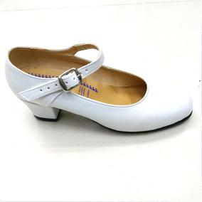 Zapato Danza Folklórica Bco Eco