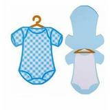Convite Chá Bebê Fraldinha Arquivo Silhouette Molde Corte