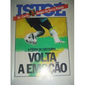 Revista Istoé 212 Alcione Brasil Futebol Serra Pelada 1981