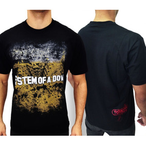 8ab62a605c58c Camisetas System Of A Down Toxicity - Camisetas no Mercado Livre Brasil