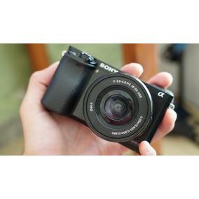 Câmera Sony A6000 - Lente Do Kit 16-50mm