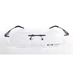 dd52b4f2aa60a Óculos De Grau Masculino Oakley 5115 Metal Sem Aros Barato