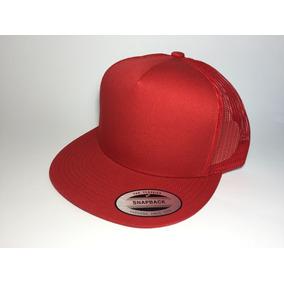Gorra Yupoong Trucker Rojo Lisa