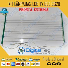 Kit Completo Lâmpadas Lcd Tv Cce C320 + Flats (não Envio)