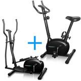 Combo Podiumfit: Bicicleta Ergometrica V100 + Elíptico L100