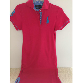 Vestido Dama Polo Ralph Lauren Color Rosa