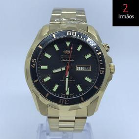 180fb37a72e Relógio Orient Masculino Automático Com Calendário 469gp078