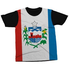Camiseta Alagoas Estado Brasil Bandeira Símbolo Blusa Camisa. R  89 3cf141fa469b5