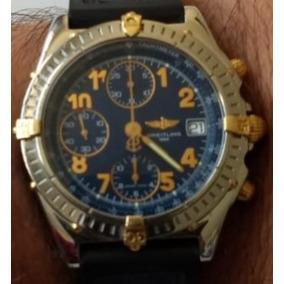 Breitling Chronomat Aco E Ouro 18k 12x Sem Juros