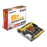 Mainboard Biostar A68n-2100+procesador Amd+memoria 2gb Ddr3