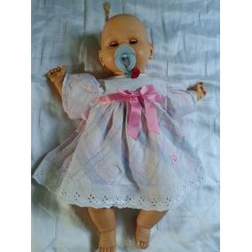 Boneca Bebe Antigo Estrela 50 Cm Frete Gratis