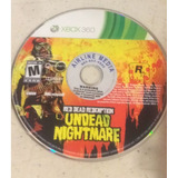 Red Dead Redemption Undead Nightmare Xbox 360 Blakhelmet C