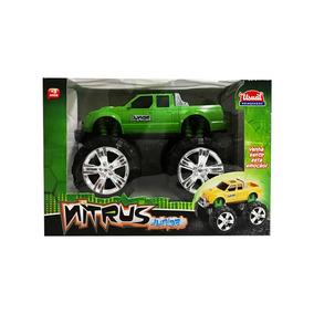 Juguete Camioneta Monster Nitrus Junior Usual Brinquedos