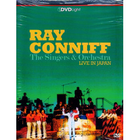 Ray Conniff Dvd Live Japan Orquestra Novo Lacrado Original