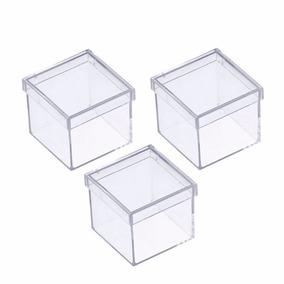 Caixinha Em Acrilico 6x6 (60 Unidades ) Lembrancinhas