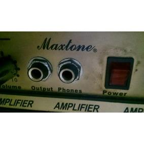 Amplificador Maxtone Para Bajo 30b