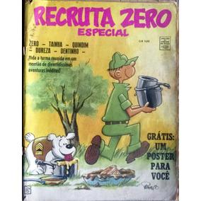 Recruta Zero -especial -colorido Grande Com Figurinhas
